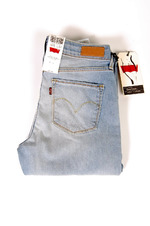 Levi's Demi Curve Straight Light Blue 1