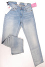 Levi's Demi Curve Straight Light Blue 2