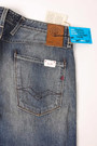 Replay Anbass M914 Crosshatch Indigo Comfort Denim 7
